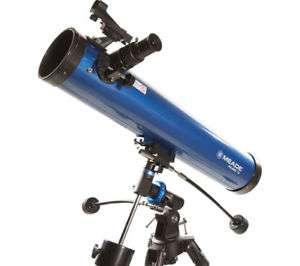 New MEADE Polaris 76 EQ Reflector Telescope - Blue £58.29 @ Curry - PCworld eBay - Free delivery