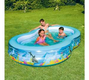 Chad Valley Ocean Lagoon Pool - 9ft - 500 Litres £21.99 or 2 for £30 at Argos Free c&c