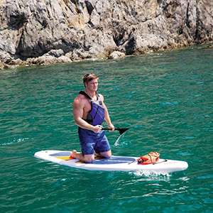 Hydro-Force Stand-Up Paddle Board - White, 10 ft £246.89 @ Amazon