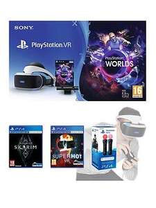 PlayStation VR Starter Pack, skyrim vr, and superhot vr £264.98 @ Very