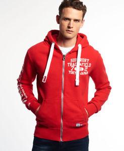 Superdry men's Trackster zip hoodie £32.99 Ebay Store