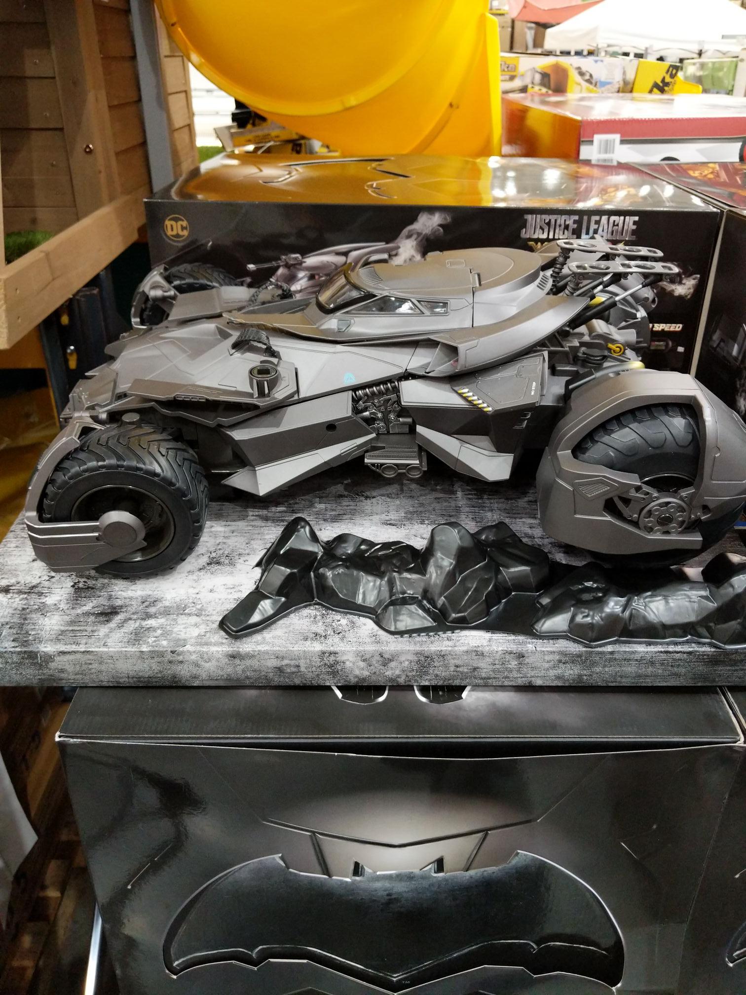 Justice League Ultimate Batmobile with Batman figure £119.98 instore @ Costco