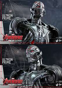 Hot Toys SS902343 1:6 Scale Ultron Prime Avengers Age of Ultron Figure £265.95 @ Amazon