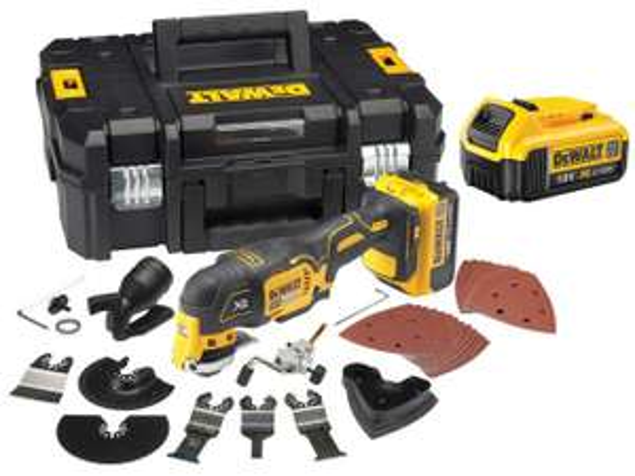 Dewalt 18v brushless Multi tool - 2 x 4.0ah batteries - £229.00 @ FFX