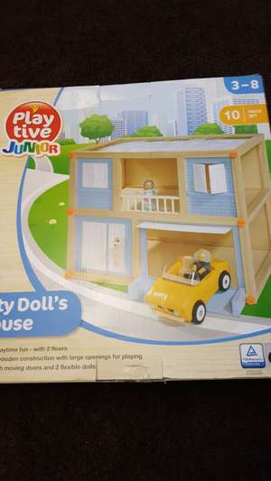 City doll' s house £14.99 instore @ Lidl