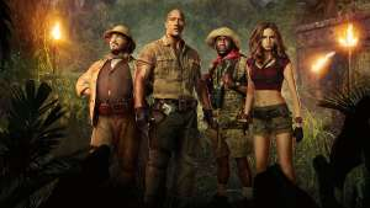 Jumanji: Welcome to the Jungle from £5.99 (£7.99 Ultra HD) - @ rakuten