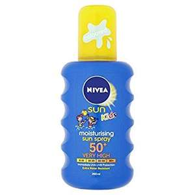 Nivea kids spray spf 50 sun cream £4 amazon add on item or less with s&s