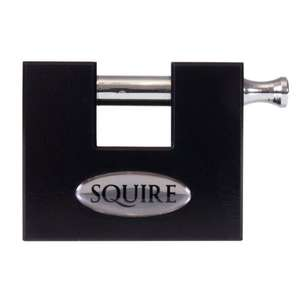 Squire WS75S Stronghold Container Block Lock / Sliding Shackle Padlock CEN 4 @ Amazon £49.00