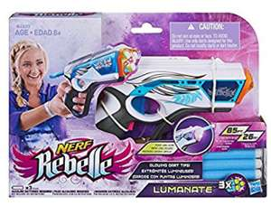 Nerf Rebelle  - Lumanate Blaster with Glowing Darts £5 in Poundland