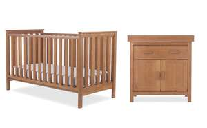Mothercare Jamestown Cot and Changing Table Bundle with free mattress **pricing error**  £261.95 delivered