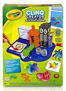 Crayola Cling Creator £5 in Poundland rrp £22.99