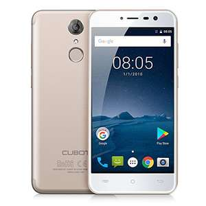 CUBOT CUB-NP-GOLD Note Plus UK SIM-Free 4G Smartphone 5.2 Inch Android 7.0 3GB RAM+32G by CUBOT £96.99 @ Amazon