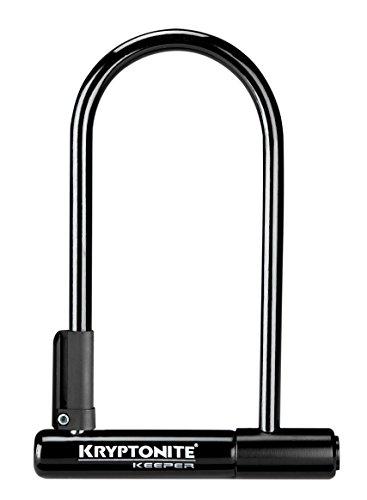 Kryptonite Keeper 12 U-Lock Sold Secure Silver £10.49 Prime £14.48 Non Prime  [Amazon]