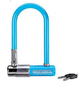 Kryptonite Kryptolok Mini-7 U-Lock Sold Secure Silver £15.11 @ Biketart via Amazon