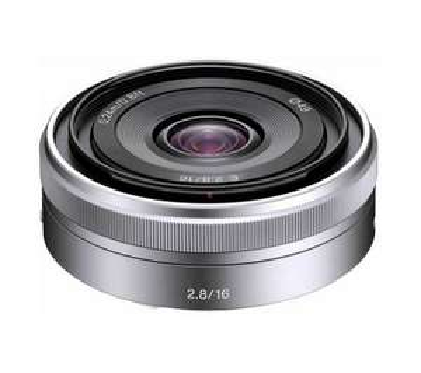 Sony SEL16F28 16 mm f/2.8 Pancake Lens £69.96 @ PCWorldBusiness