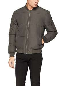 New Look Men's Puffer Bomber Jacket at Amazon for £11.86 Prime (£13.85 non-Prime)