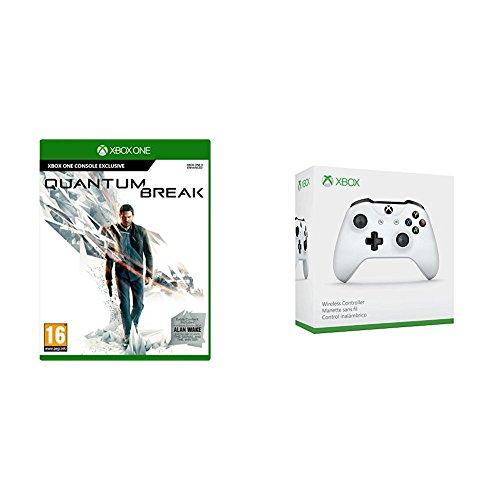 Xbox One Controller (White/Black) + Quantum Break (Xbox One) £41.99 Delivered @ Amazon