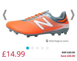 Up to 80% Off Football inc Up to 75% off Men's New Balance from £14.99 @ MandM Direct (More in OP) P&P £4.49