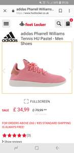 Mens Adidas Pharrell pink @ footlocker for £39.99 delivered