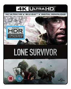 Lone Survivor 4K UHD Blu-ray + Blu-ray + Digital Download - £12 / £13.99 non prime  @ Amazon