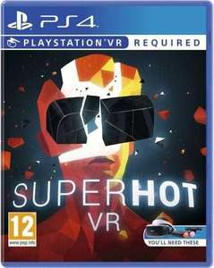 Superhot on PS4 (VR) back to £14 prime / £15.99 Non Prime @ Amazon