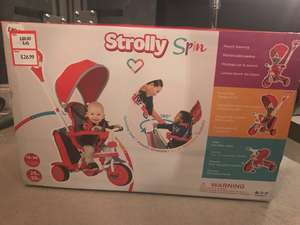 Strolly Spin trikes in Mothercare £26.99