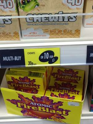 Ice cream flavour chewits 10 for £1 @ Watt Brothers Ayr