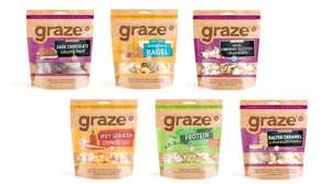 Graze Snacks half price @ Tesco £1.49