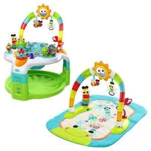 Bright Starts 2-In-1 Baby Bouncer Lights N Learn Activity Gym And Saucer £38.00 @ Tesco Ebay