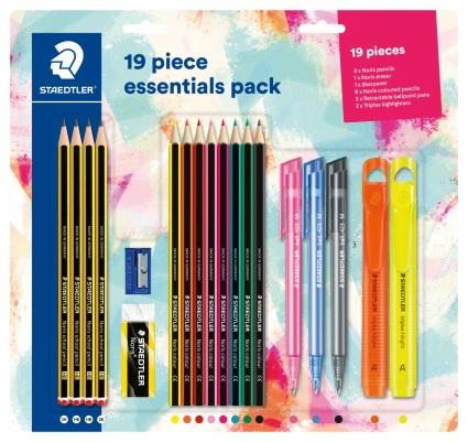 Staedtler 19 Piece Essentials Set £6.99 @ WHSmith (free C&C)