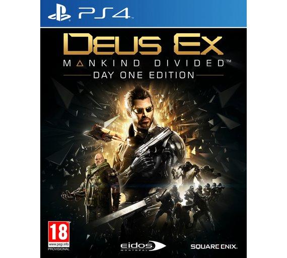 Deus Ex Mankind Divided  xbox/ps4 £4.99 @ Argos instore and online via c&c