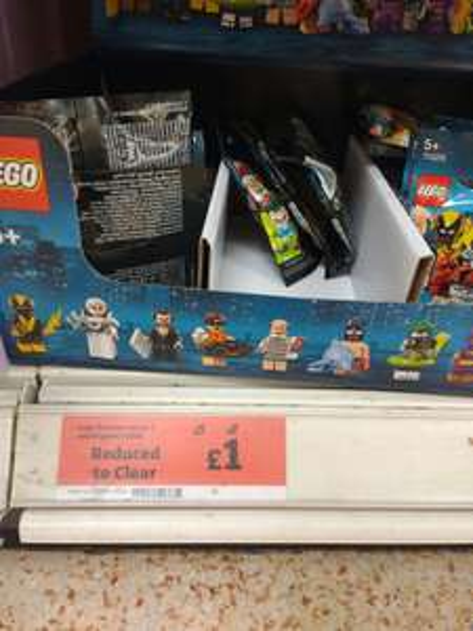 Lego batman series 2 mini figures £1 instore @ Sainsbury's Halstead