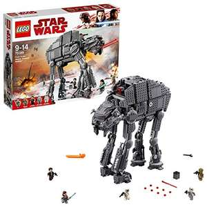 LEGO Star Wars The Last Jedi 75189 First Order Heavy Assault Walker Toy £94.99 @ Amazon & John Lewis