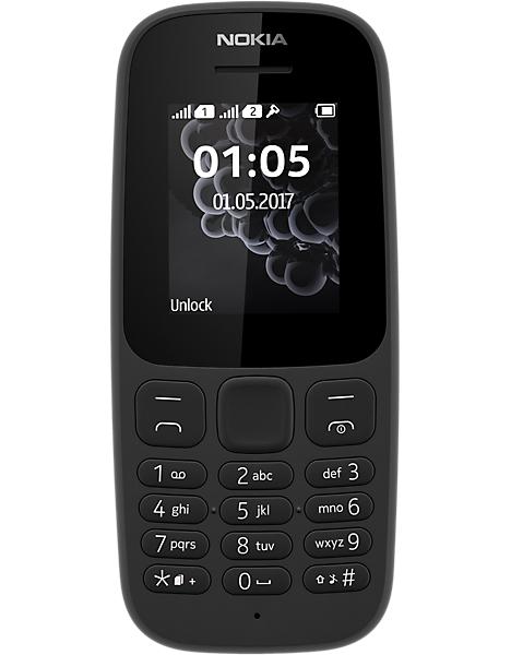 Nokia 105 2017 - £1 + £10.99 topup @ Carphone Warehouse