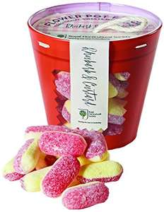 RHS Gourmet Candy Rhubarb and Custard Plant Pot, 175 g, Pack of 2 add on item minimum 20 pound spend required