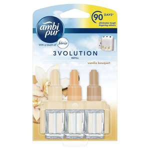 Ambi Pur 3volution Adjustable Diffuser Refill withFebreze £2.50 at Wilko