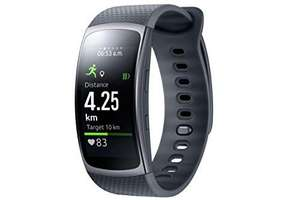 Samsung Gear Fit Smart Wrist Watch with Heart Rate Monitor and notifications II - Dark Grey (S) - £43.69 using 15% off promo @ Amazon Warehouse