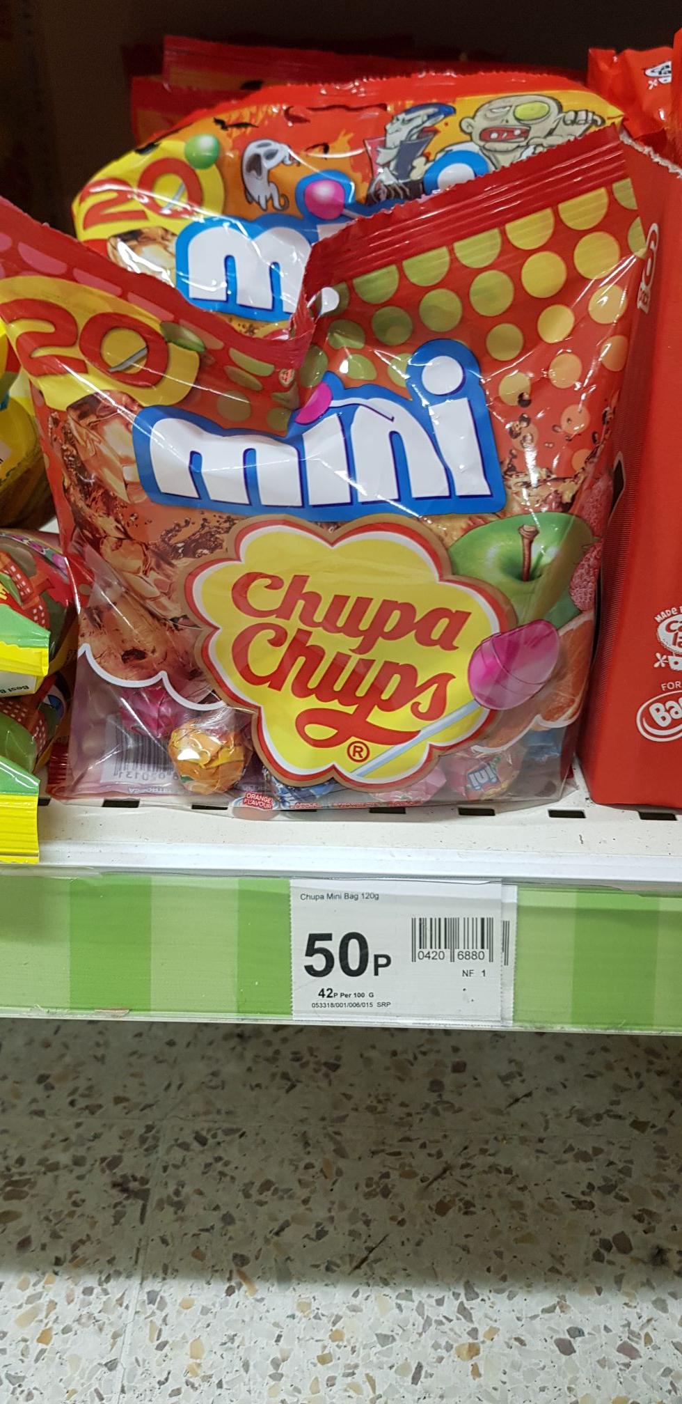 Chupa chups mini 20pack - 50p instore @ wilko