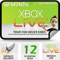 Xbox live gold - 12 months (Using Brazil Code) - £26.99 @ cjs-cdkeys