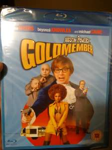 Austin Powers Goldmember Bluray £1 instore @Poundland