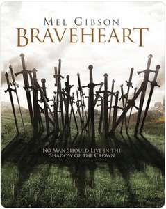 Braveheart Limited Edition Blu-ray Steelbook at Zavvi for £15.99 delivered