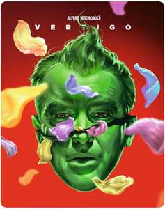 Great Looking Limited Edition Steelbook of Hitchcock's Vertigo - £15.99 @ Zavvi (pre-order)