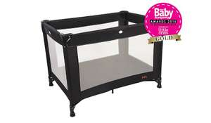 Back in Stock *** Red Kite Sleeptight black travel cot £18 + £2.95 P&P @ Asda online