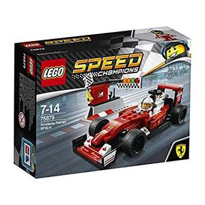 "Lego Speed Champions 75879 ""Scuderia Ferrari SF16-H"" Building Set £8.75 (Prime) / £12.74 (non Prime) at Amazon"