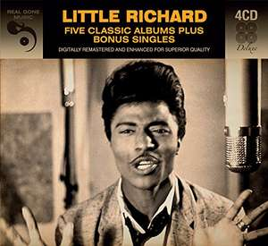 Little Richard - 5 Classic Albums @ Amazon - £5.99 (+ £1.99 delivery if not Prime or >£20)