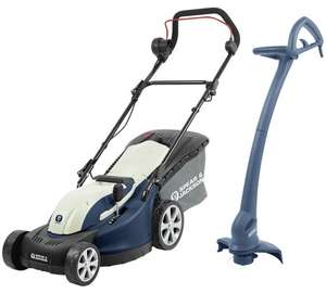 Spear & Jackson 34cm Corded Lawnmower 1300W & Trimmer - 350W only £69.99 was £119.99 at Argos