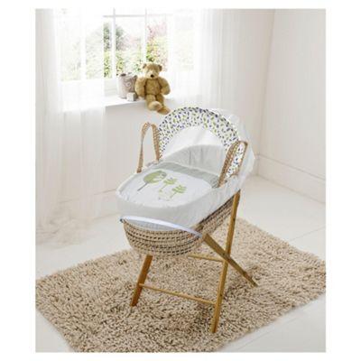 Kinder Valley 3 Birds Moses Basket + Mattress + Bedding + Folding Stand now £30 C+C @ Tesco Direct
