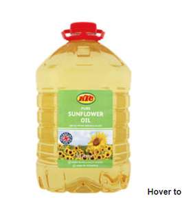 5 litres KTC Pure Sunflower Oil £3.50 @ Asda