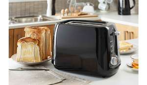 2 Slice Toaster - Black £9 Asda