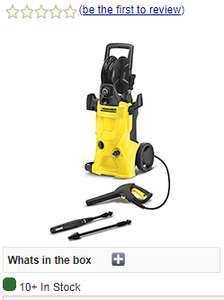 Karcher K4 Premium Pressure Washer - Wickes Ex Display £136.48 @ the karcher outlet